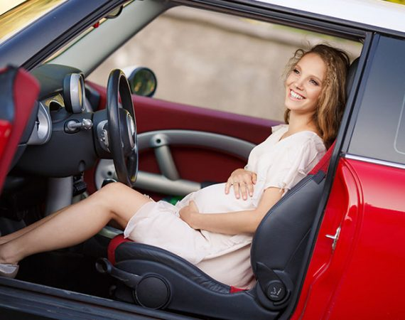 conducir-embarazada